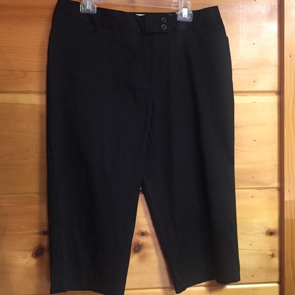 George Pants - [George] black capri pants new tags 14